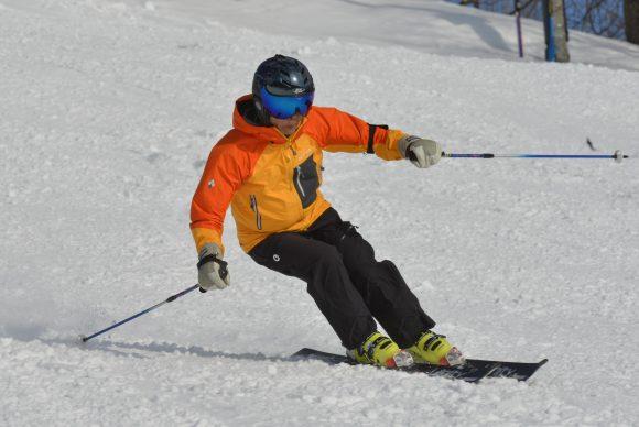 スキー中越