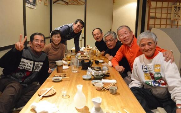 寒曳シニア3日目夕食2