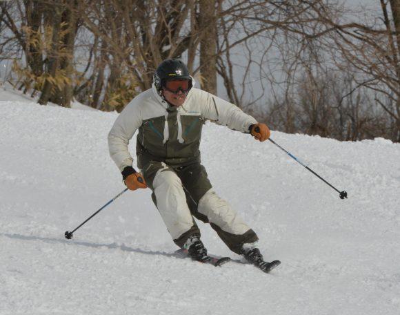スキー河部